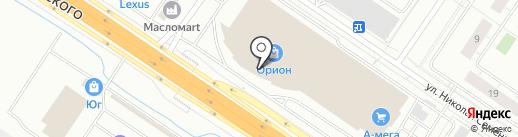Daniloff на карте Тюмени