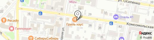 Адвокатский кабинет Гермаш Д.С. на карте Тюмени