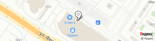 DaVita-мебель на карте Тюмени