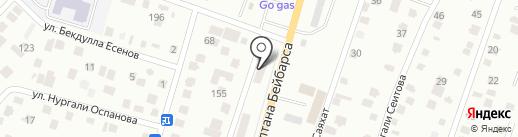 DamuExpress на карте Ынтымака