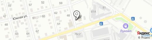 Оазис24 на карте Тюмени