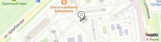 РентЭнерго на карте Тюмени