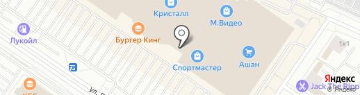 ЧУ на карте Тюмени