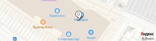 NYX на карте Тюмени