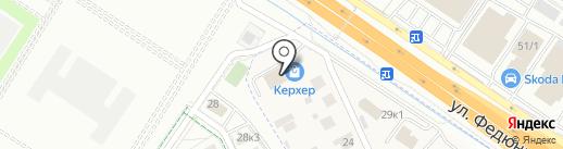 ШКАФ на карте Ожогиной