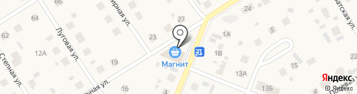 Веспуччи на карте Патрушевой