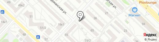 Пивбуль на карте Тюмени