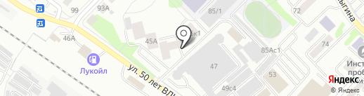 АртМедиаПлюс на карте Тюмени
