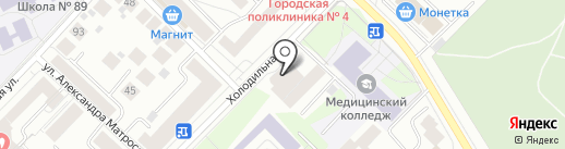 Zavinni на карте Тюмени