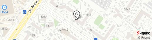 Сушкоф на карте Тюмени