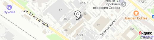 Авто+ на карте Тюмени