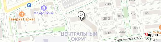 EUROFIT на карте Тюмени