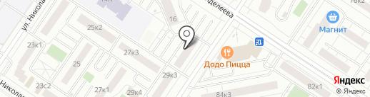 A club на карте Тюмени