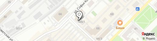 БИНБАНК, ПАО на карте Тюмени