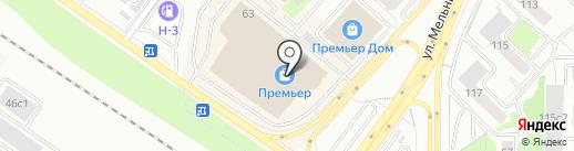 МТС на карте Тюмени