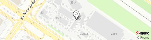 АВТО-ГАЗ на карте Тюмени