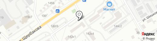 Надежный КапиталЪ на карте Тюмени