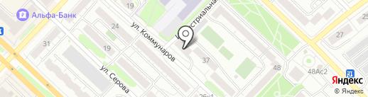 Уралнефтепродукт на карте Тюмени