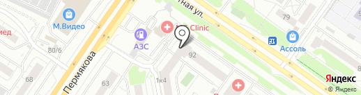 ГРИН-ЛАНДИЯ на карте Тюмени