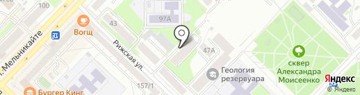 Межрайонный отдел Федеральной кадастровой палаты Федеральной службы государственной регистрации, кадастра и картографии по Тюменской области на карте Тюмени