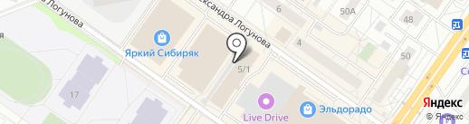 Марафон на карте Тюмени