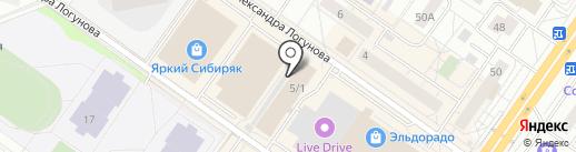 Сибирячка на карте Тюмени