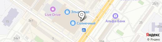 Eva Secret на карте Тюмени