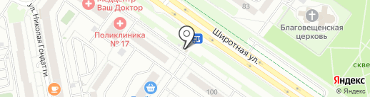 Магазин белорусских продуктов на карте Тюмени