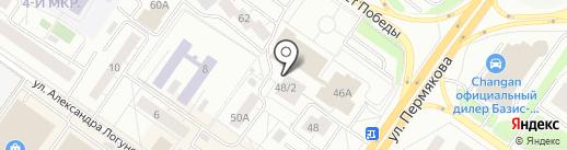 Боди Слим на карте Тюмени