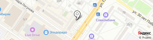 Ноутбук72 на карте Тюмени