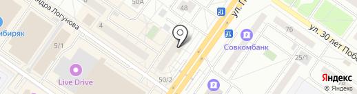 АБ на карте Тюмени