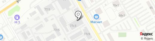 ТуЛайф на карте Тюмени
