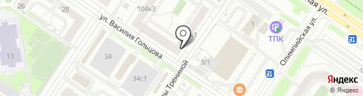 Доктор А Арбитайло на карте Тюмени