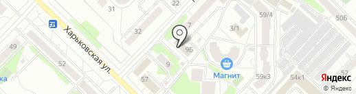 ВекторМ на карте Тюмени