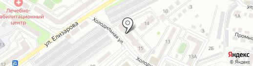Дорогая, я в гараж на карте Тюмени