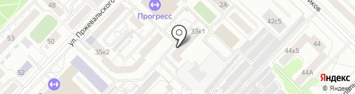 Абсолют-маркет на карте Тюмени