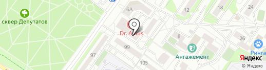 1xBet на карте Тюмени