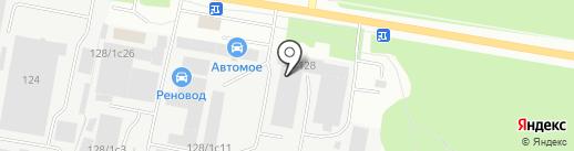 БетонТрейд на карте Тюмени