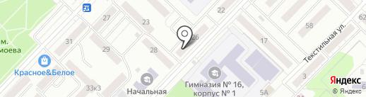 Астекхоум на карте Тюмени