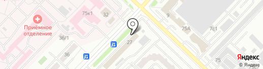 SIM-центр на карте Тюмени