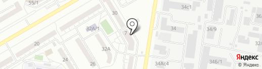 Судебный участок №8 на карте Тюмени