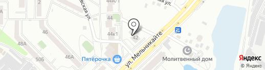 Банкомат, Газпромбанк на карте Тюмени