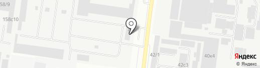 СТМК на карте Тюмени
