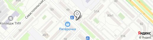 Estet на карте Тюмени