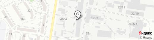 Завод БлокСтройКомплект на карте Тюмени