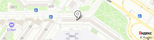 MELIOR на карте Тюмени