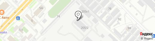АВАНТ на карте Тюмени