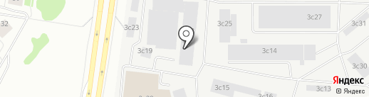 Пышминская, ЗАО на карте Тюмени