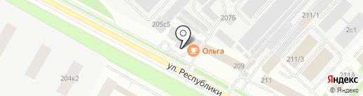 АСОНИЯ на карте Тюмени