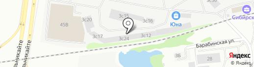 Оптово-розничная компания на карте Тюмени